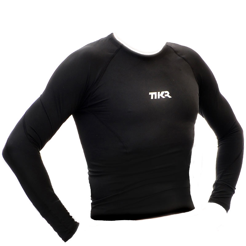 Mens Long Sleeve Compression Top - TIKR ENDURANCE