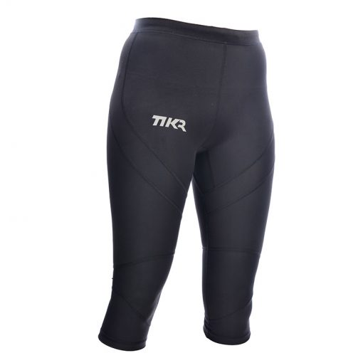 Womens Compression 3/4 Tights Front - TIKR ENDURANCE